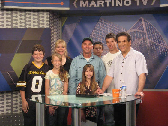 Dryer Vent Doctor (and family) on Tom Martino TV